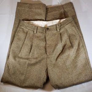 Orvis 100% wool Trousers 32 in waist